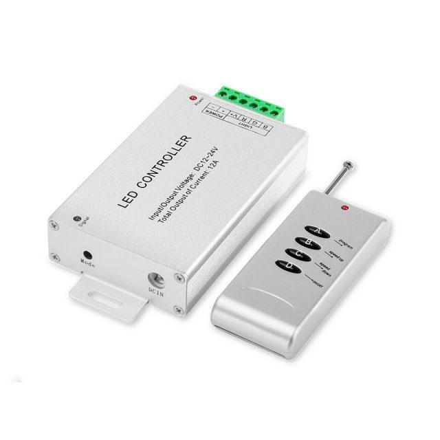 Controladora RGB con control remoto 10 mts