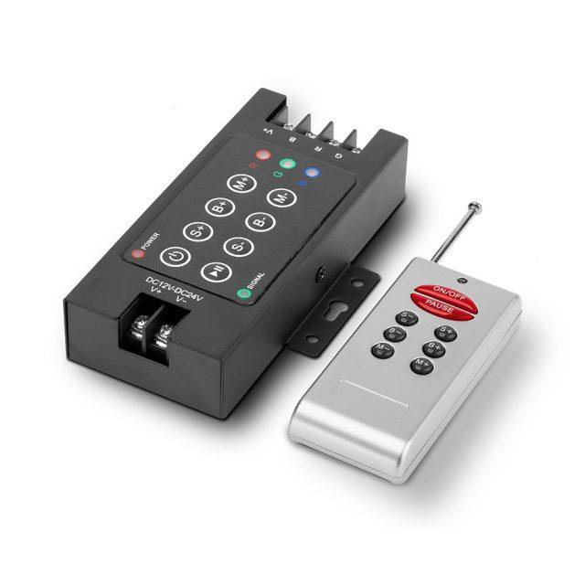 Controladora RGB Radio Frecuencia
